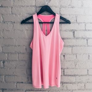 Marika Tek workout tank // dry wik pink top